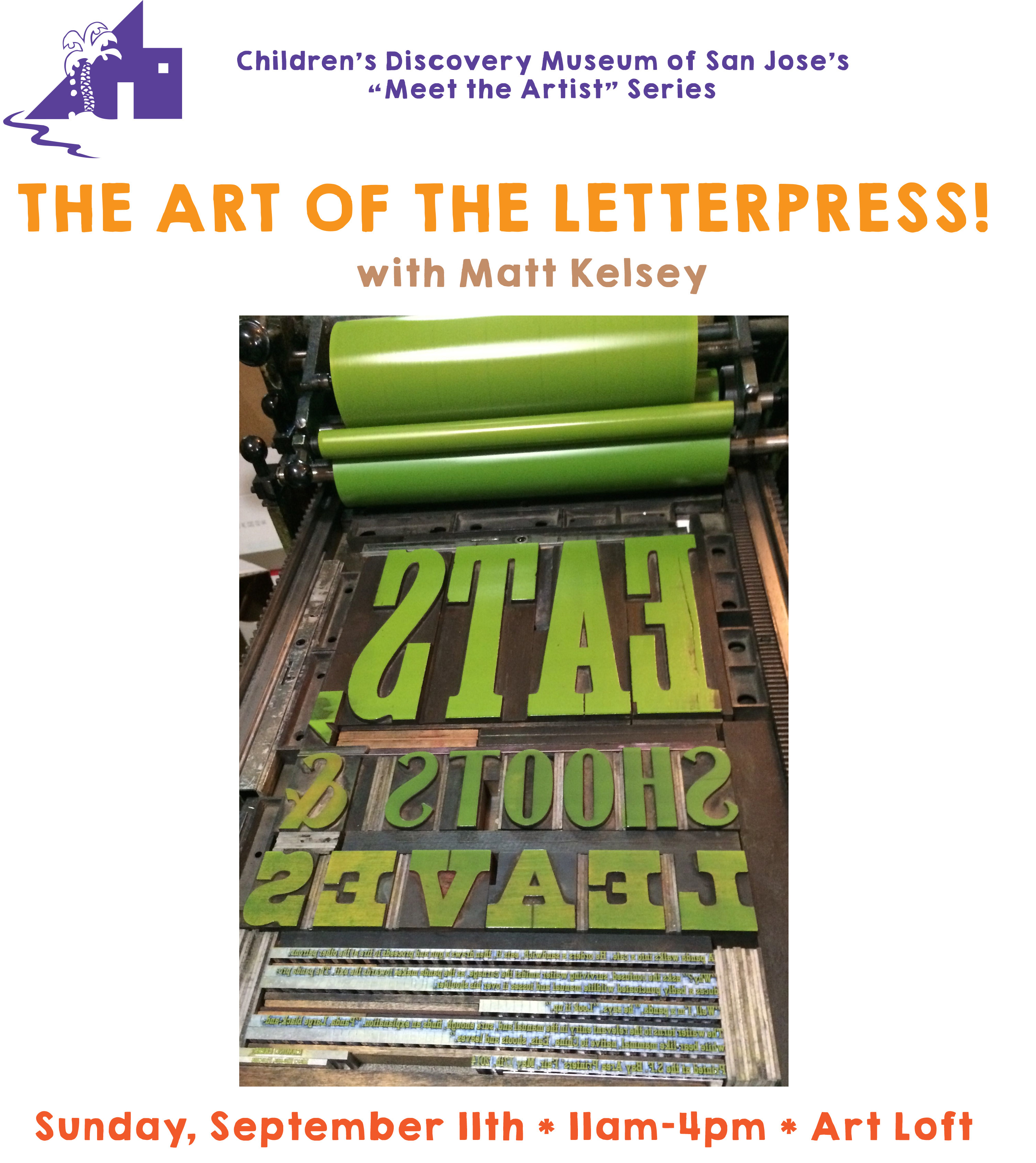 Meet the artist the art of letterpress with matt kelsey jetpackbackpacksclavo rivas explore the centuries old process of letterpress printing reheart Image collections
