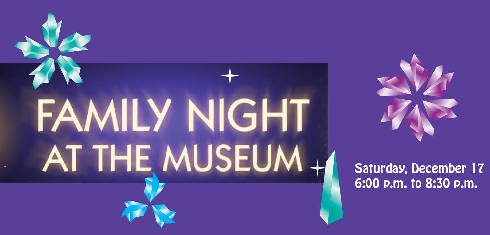 Family Night at the Museum December 17