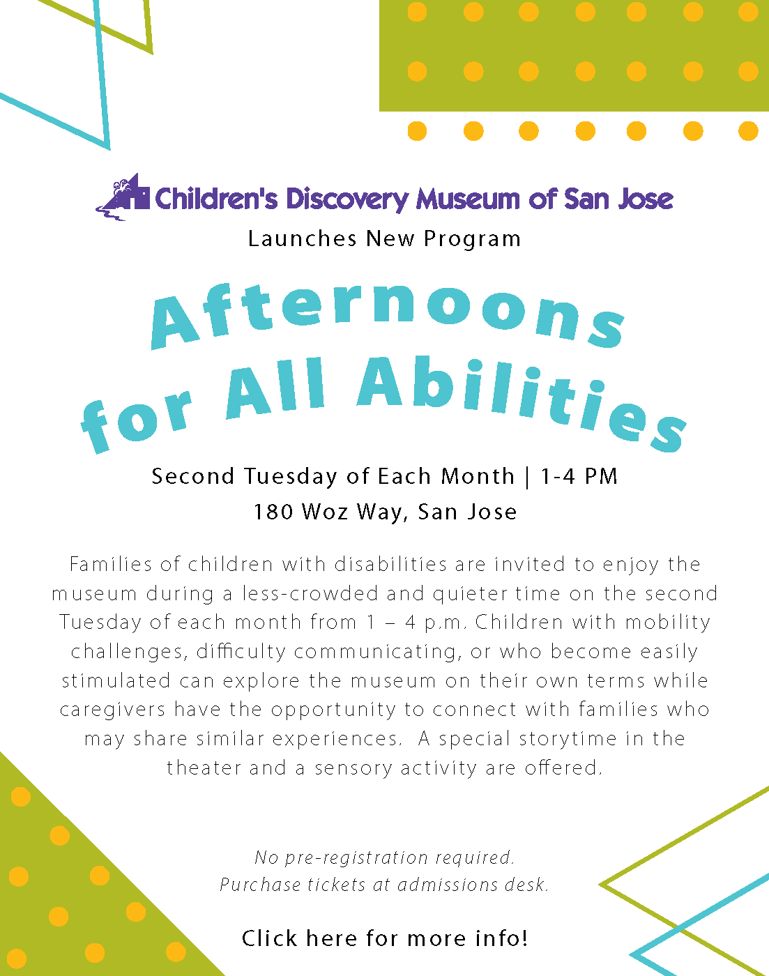 Afternoons for All Abilities