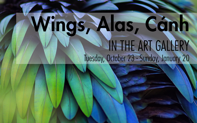 Art Gallery: Wings, Alas, Cánh ENDS!