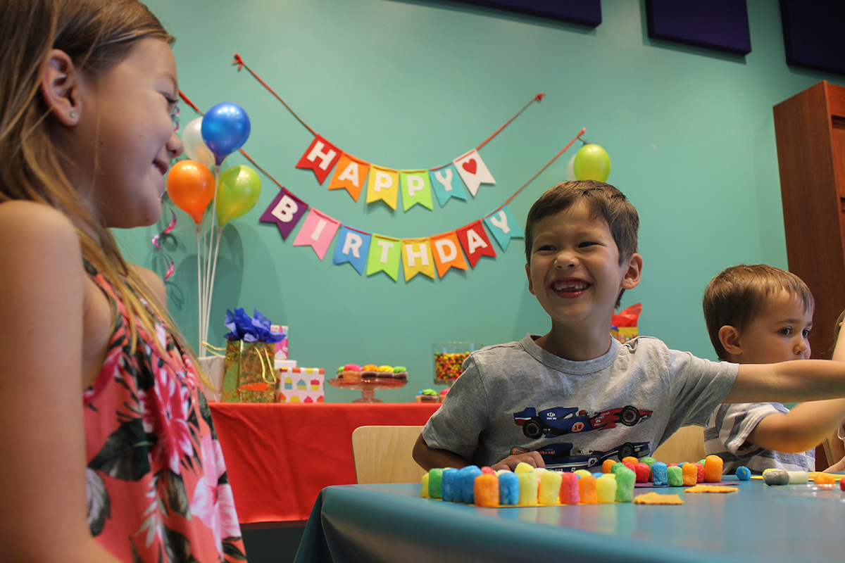 Birthday Parties Children S Discovery Museum Of San Jose