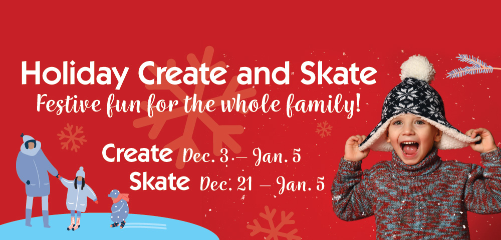 Holiday Create and Skate