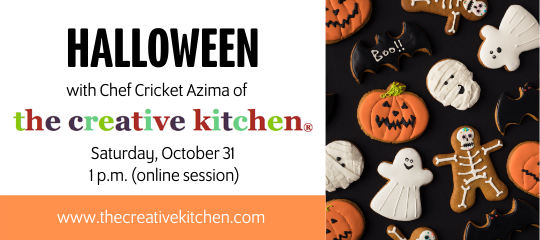 Halloween with The Creative Kitchen
