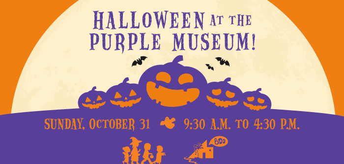 Halloween at the Purple Museum